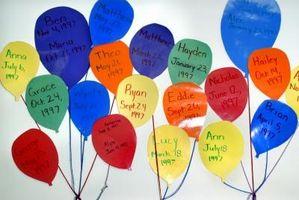 Grandes ideas para Cumpleaños en la Escuela