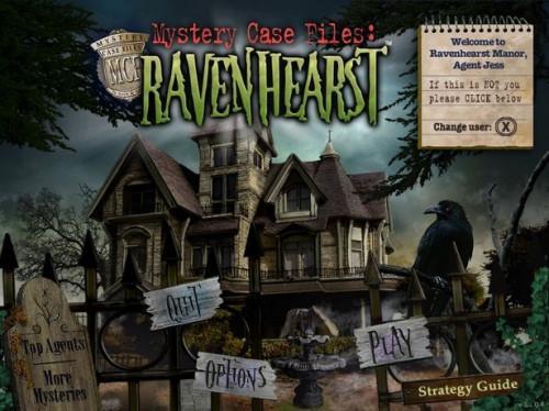 Mystery Case Files Ravenhearst Volver a Consejos y trucos