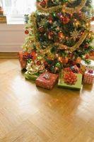 Problemas con las formaciones de árboles de Navidad