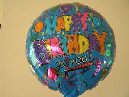 Ideas de regalos: Cómo poner globos en un cuadro