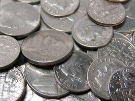 Como prueba de monedas de plata