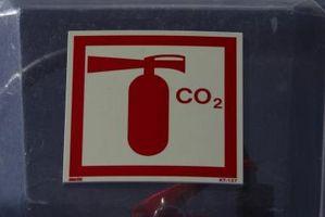 Cómo convertir dióxido de carbono en hielo seco