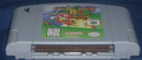 Cómo limpiar N64 Juegos