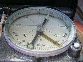 ¿Cómo se imanes usados en los compases?