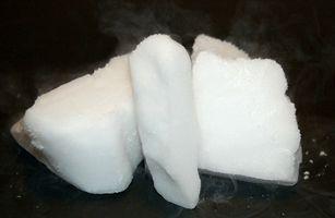 Cómo hacer hielo seco para niebla