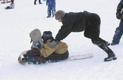 Actividades de invierno en los años 60