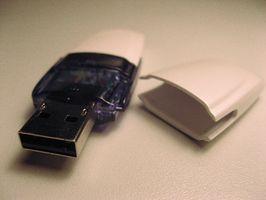 Cómo dar vuelta a una unidad flash USB en una tarjeta de memoria PS2