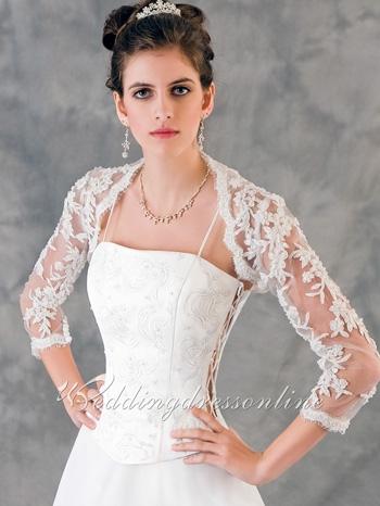 Ideas para los vestidos de boda de dos piezas