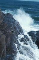 Características de la erosión en ondas del mar