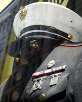 Ideas para los padres para USMC oficial de puesta en servicio Ceremonias