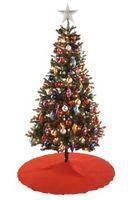 Los árboles de pino artificial para la Navidad