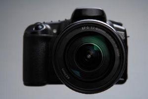 Cómo tomar una cámara SLR de caliente a muy frío Aire