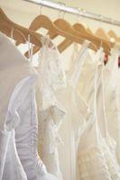 Cómo cortar un vestido de novia