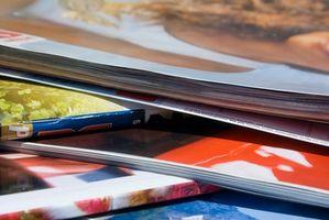 Cómo proteger Revistas en un cuaderno