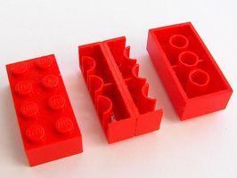 Cómo crear prediseñada El uso de bloques de Lego