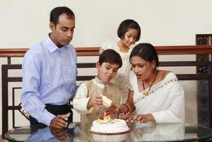 Ideas de decoración de pasteles para los indios