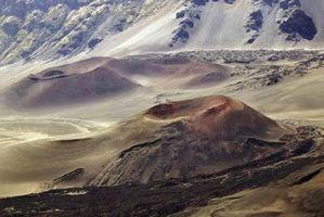 Efectos de ceniza flujo de lava del Cono