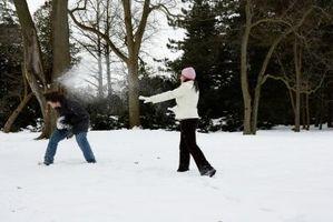 Juegos de Navidad bola de nieve
