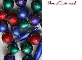 Cómo hacer que los titulares de tarjetas de Navidad