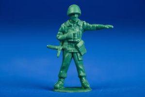 Ideas para jugar de plástico soldados de juguete
