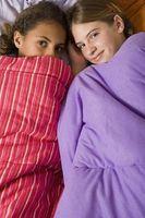 ¿Cuál es la edad adecuada para una fiesta de pijamas?