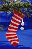 A tejer calcetines miniatura