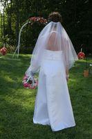Instrucciones para hacer velos de novia