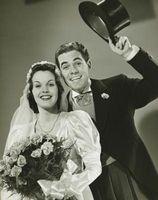 Ropa de boda de las mujeres a partir de los años 1940