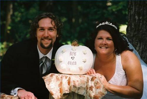 DIY decoraciones de la boda al aire libre