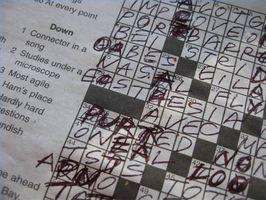 Cómo resolver Difícil Crucigramas