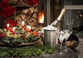 Ideas románticas para la víspera de Año Nuevo en casa