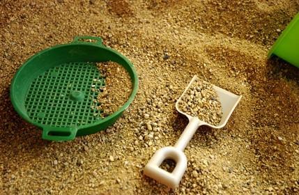 Mesa de arena Actividades para niños pequeños
