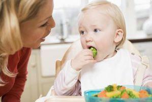 Las necesidades de alimentos para el crecimiento y desarrollo en niños pequeños