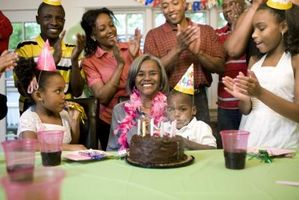 Las ideas de postre para una fiesta de cumpleaños número 50