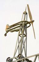 Casera del viento Paletas y Anemómetros