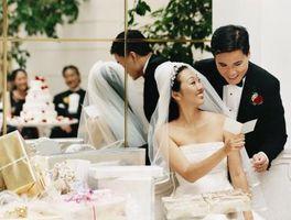 Únicos de tarjetas Caja de ideas para una boda