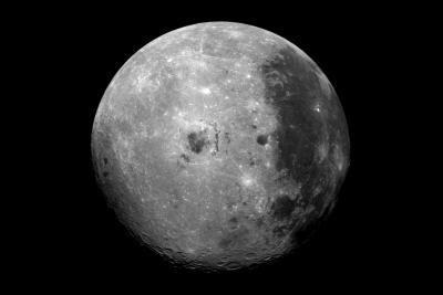 Fases de la luna en el cielo