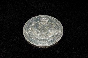 Cómo limpiar monedas de plata con acetona