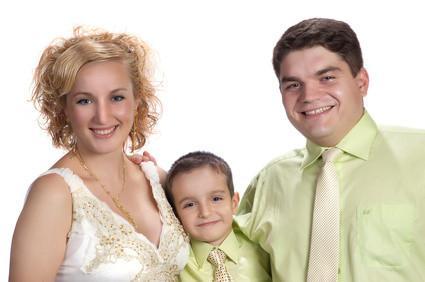 Consejos sobre la fotografía del retrato de la familia