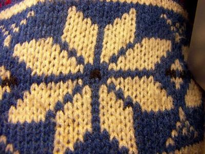 A tejer suéteres Sus propios noruegos