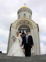 Una lista de control boda de la iglesia