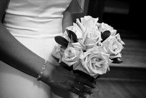 Ideas de la boda blancos y negros