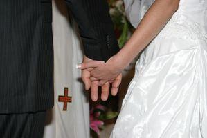 Formatos para las oraciones para una boda
