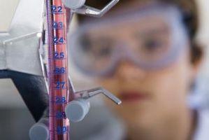 Significados químicas de indicadores ácido-base