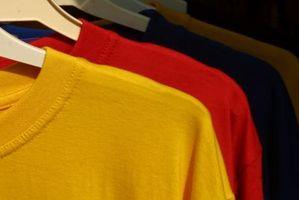 Formas de mostrar las camisetas con alambre