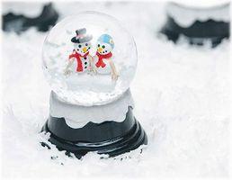 Decoraciones de la boda de invierno en un Presupuesto