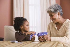 Los abuelos como niñeras