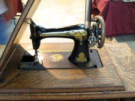 Cómo hasta la fecha un gabinete de la máquina de coser