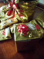 Chirstmas de los regalos para los padres