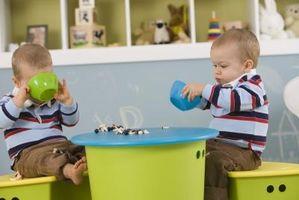 ¿Cómo encontrar cuidado de niños para los gemelos
